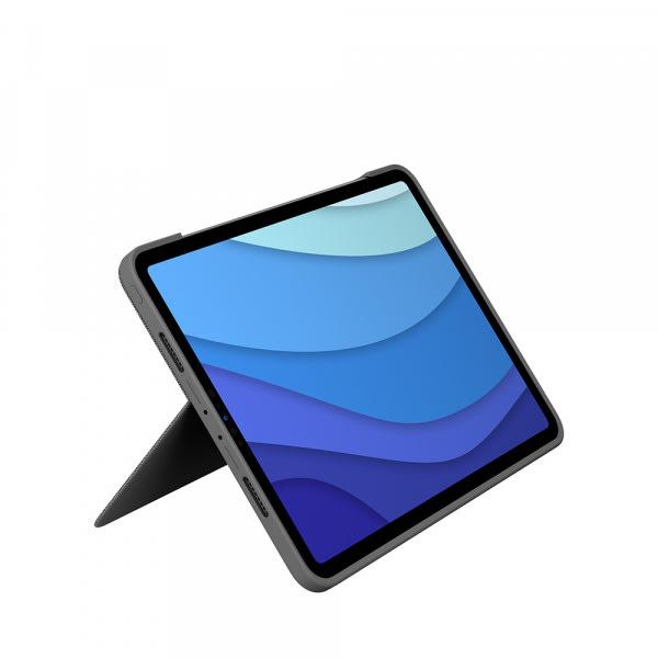 Logitech iPad Pro 11 Combo Touch KB Case 1/2/3 Gen - Black 4