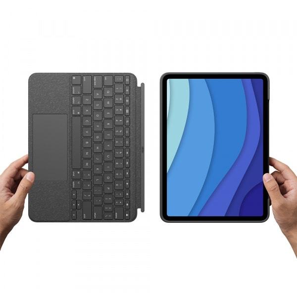 Logitech iPad Pro 11 Combo Touch KB Case 1/2/3 Gen - Black 7