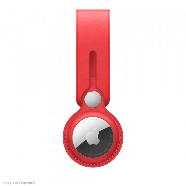 Apple AirTag Leather Loop (PRODUCT)RED  0