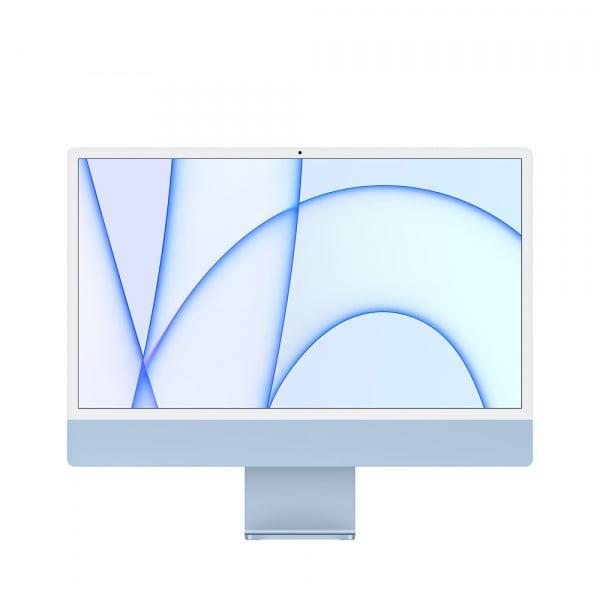 Apple iMac 24 Retina 4.5K M1 8cCPU/7cGPU/8GB/256GB Blue  0