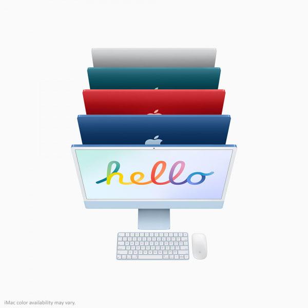 Apple iMac 24 Retina 4.5K M1 8cCPU/7cGPU/8GB/256GB Silver  6