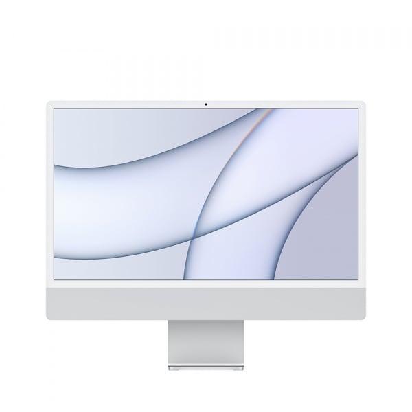 Apple iMac 24 Retina 4.5K M1 8cCPU/8cGPU/8GB/256GB Silver  0
