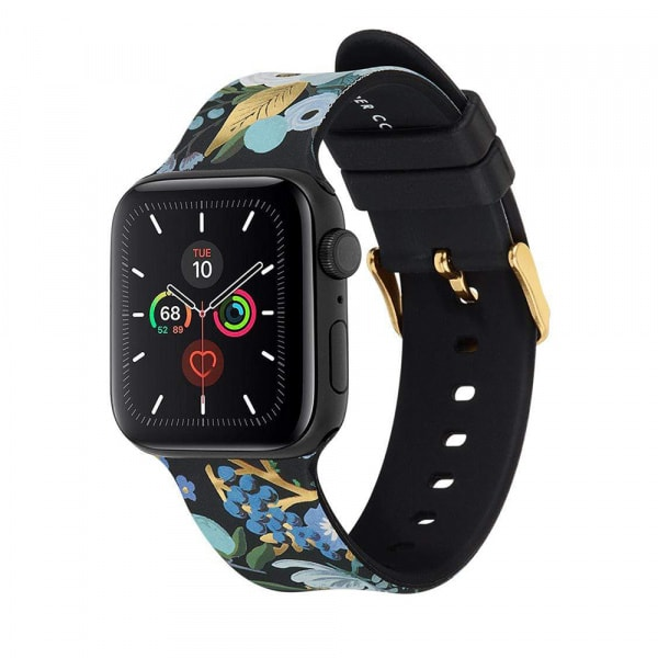 Rifle Paper Watch Strap 42-44mm Band - Garden Party Blue  1