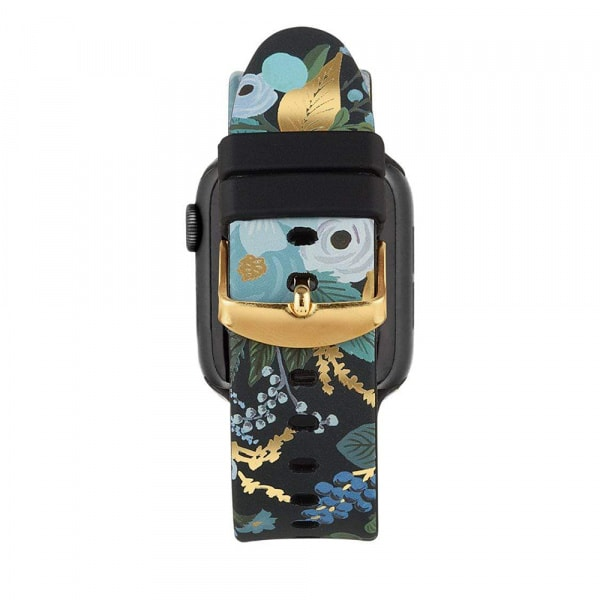 Rifle Paper Watch Strap 42-44mm Band - Garden Party Blue  3