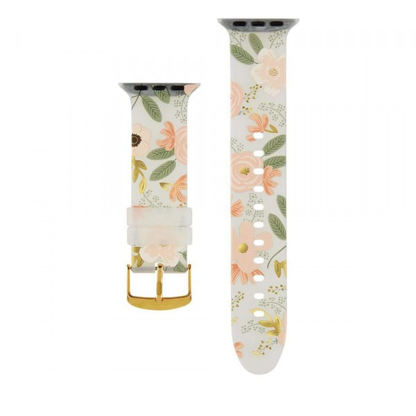 Rifle Paper Watch Strap 38-40mm Band - Wild Flowers  0