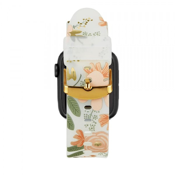 Rifle Paper Watch Strap 38-40mm Band - Wild Flowers  3