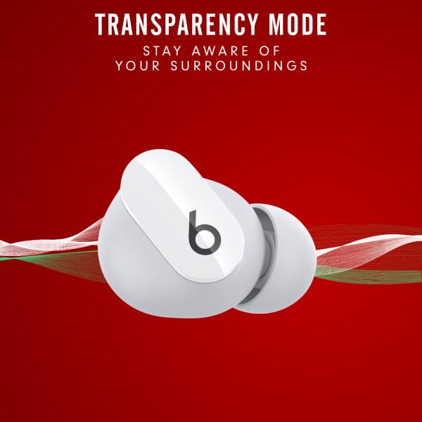 Beats Studio Buds True Wireless Noise Cancelling Earphones White  2