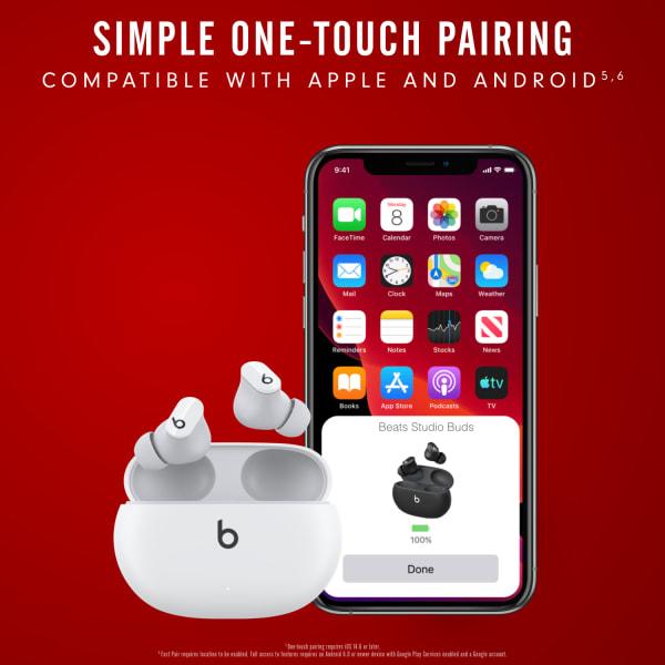 Beats Studio Buds True Wireless Noise Cancelling Earphones White  5