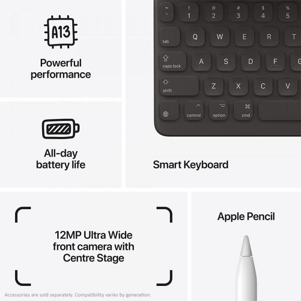 Apple iPad (9th Gen) 10.2 Wi-Fi 64GB Space Grey  3