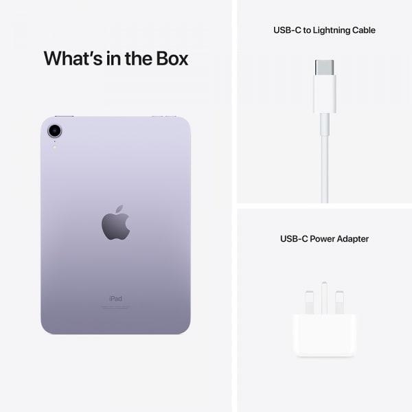 Apple iPad mini (6th Gen) Wi-Fi 64GB Purple  3