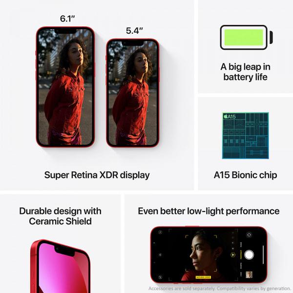 Apple iPhone 13 mini 128GB (PRODUCT)RED  6