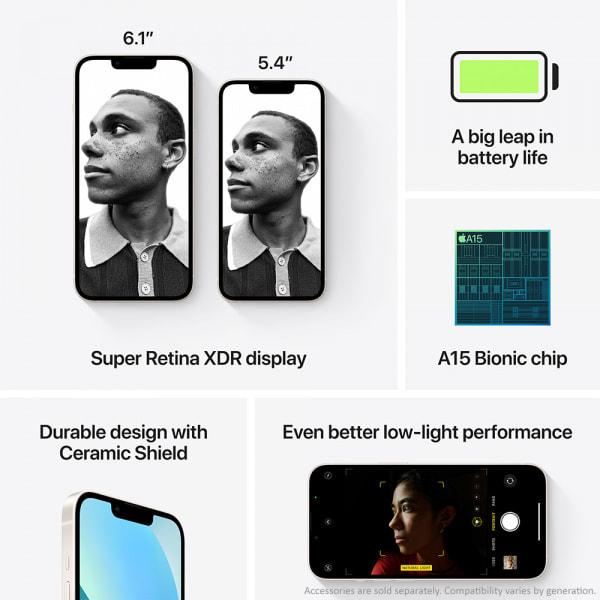 Apple iPhone 13 512GB Starlight  6