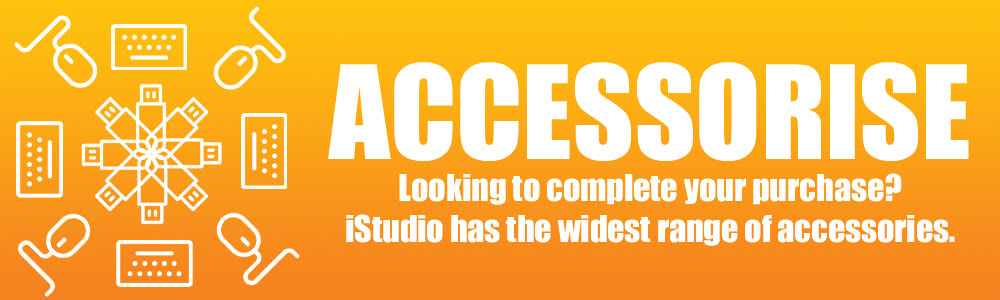 Get the widest range of accessories for your Apple products at iStudio