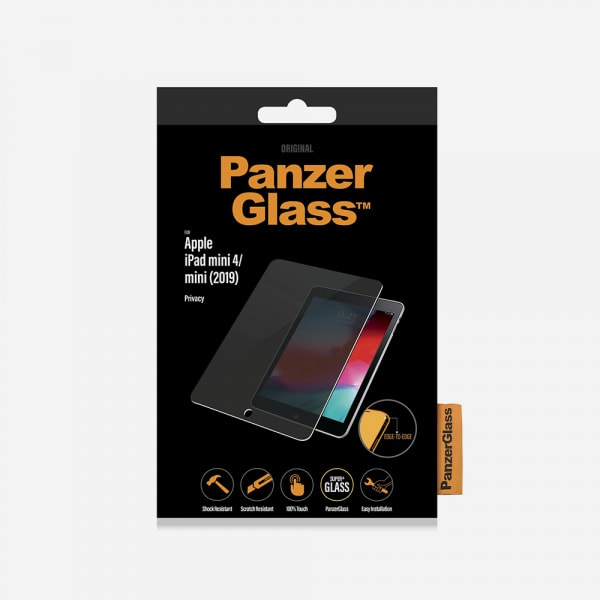 PANZER GLASS Privacy for iPad Mini 4 - Clear 2