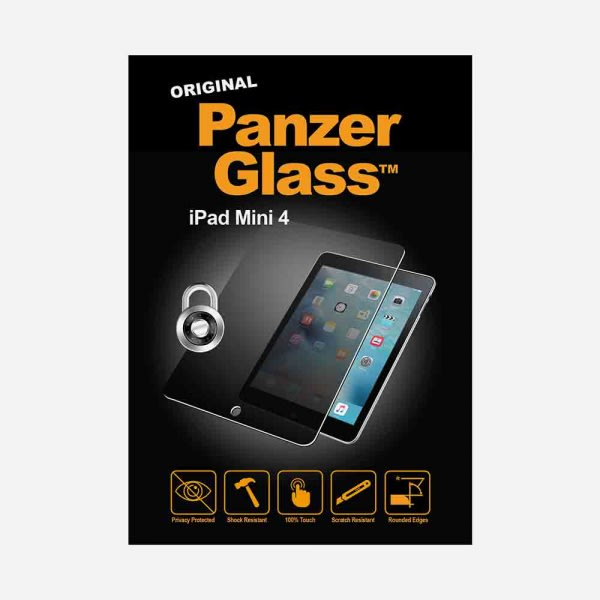 PANZER GLASS Privacy for iPad Mini 4 - Clear 0
