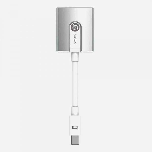 ADAM ELEMENTS M2 Mini Display Port to HDMI Adapter - Silver 2