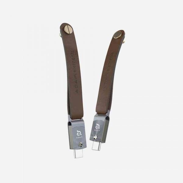 ADAM ELEMENTS Roma USB C to USB 3.0 OTG 64GB Flash Drive - Grey 0