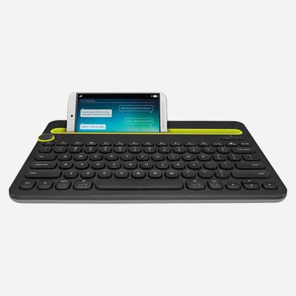 LOGITECH K480 Bluetooth Multi-Device Keyboard  - Black 0