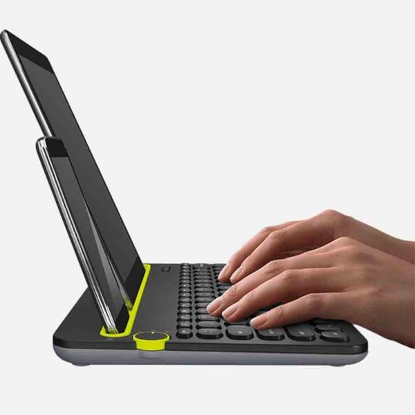 LOGITECH K480 Bluetooth Multi-Device Keyboard  - Black 1