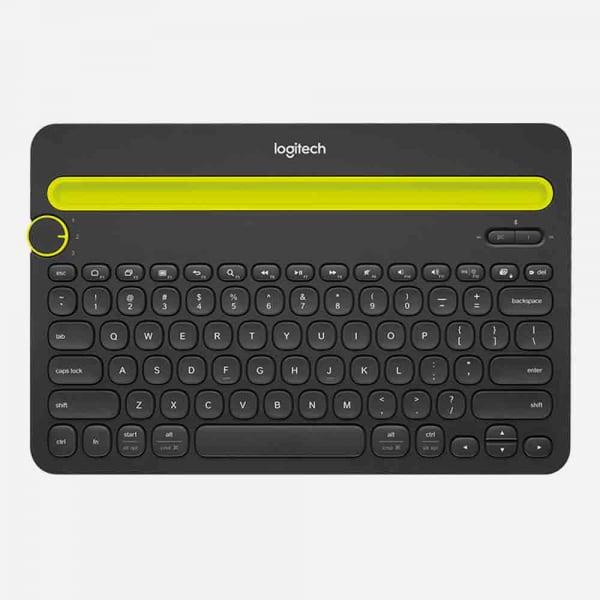 LOGITECH K480 Bluetooth Multi-Device Keyboard  - Black 2
