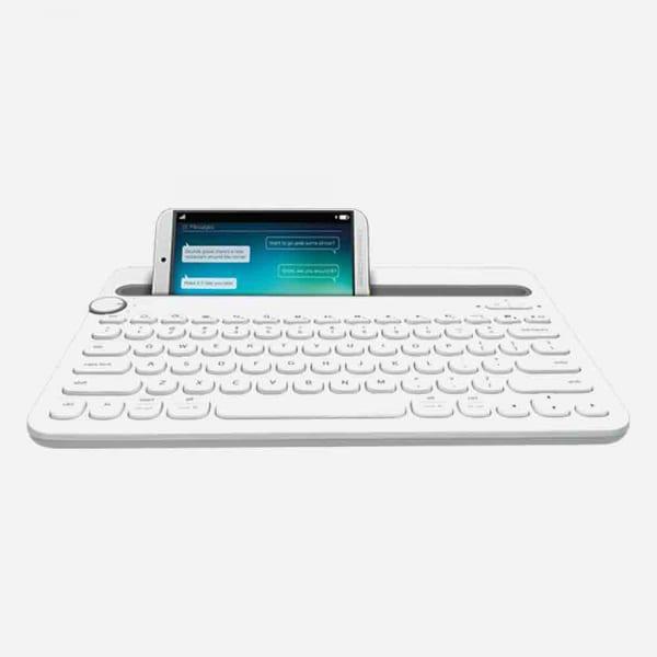 LOGITECH K480 Bluetooth Multi-Device Keyboard - White 0