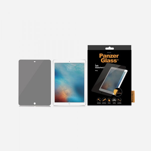 PANZERGLASS Privacy for iPad 5th/6th Gen (2017-2018) / iPad Pro 9.7 (2016) - Clear 2