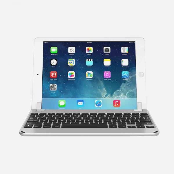BRYDGE 9.7 for iPad (5th Gen), iPad Air (1st, 2nd Gen), iPad Pro 9.7 - Silver 0