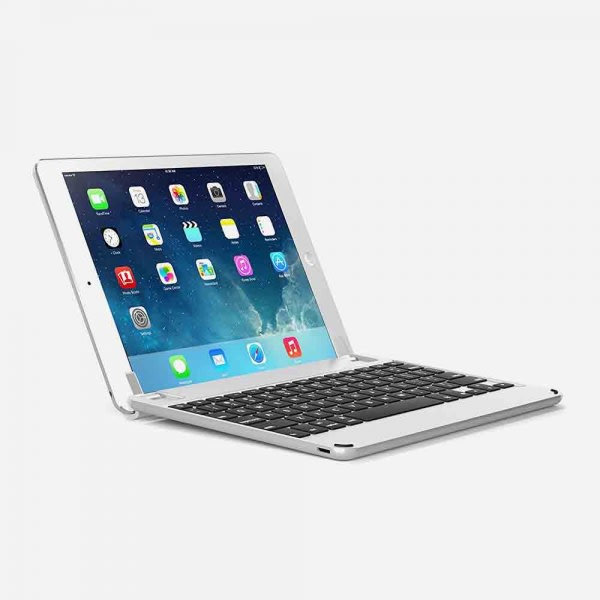 BRYDGE 9.7 for iPad (5th Gen), iPad Air (1st, 2nd Gen), iPad Pro 9.7 - Silver 1