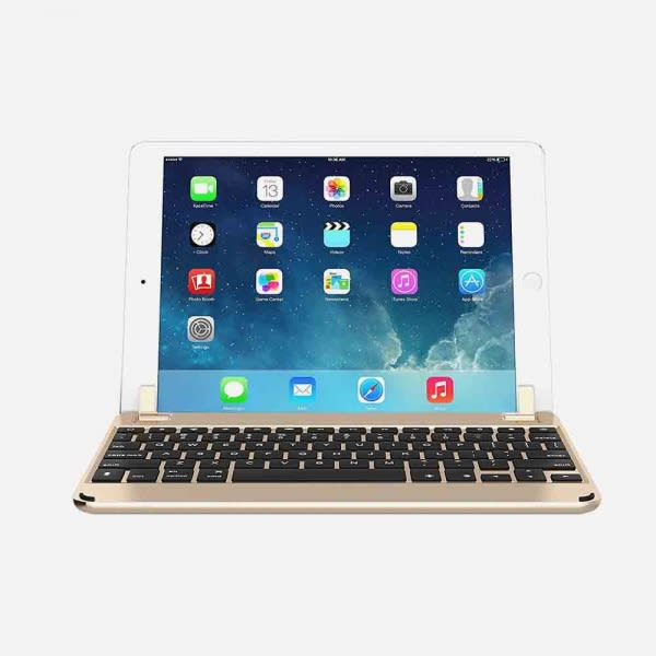 BRYDGE 9.7 for iPad (5th Gen), iPad Air (1st, 2nd Gen), iPad Pro 9.7 - Gold 1