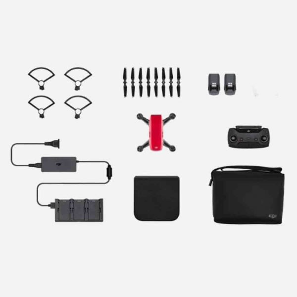 DJI Spark Fly More Combo - Lava Red 3