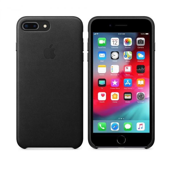 iPhone 8 Plus / 7 Plus Leather Case - Black 0