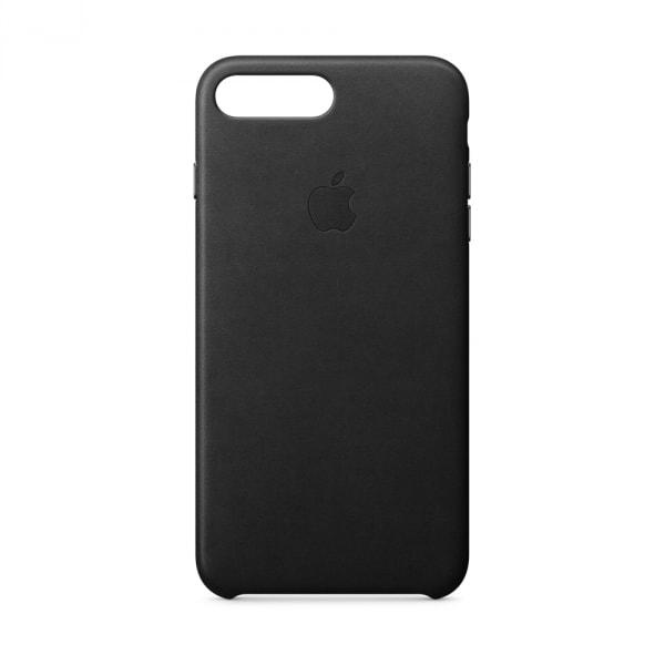 iPhone 8 Plus / 7 Plus Leather Case - Black 1