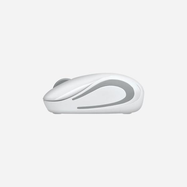 LOGITECH M187 Wireless Mini Mouse - White 3