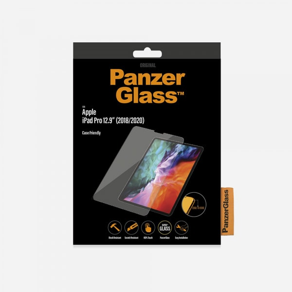 PANZERGLASS for iPad Pro 12.9 3rd-5th Gen (2018-2021) - Clear 0