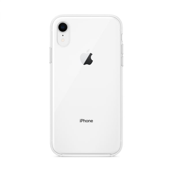 iPhone XR Clear Case 4