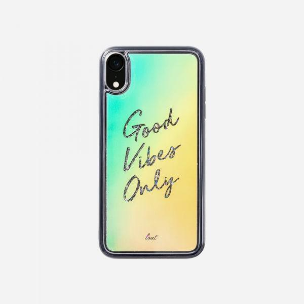 LAUT Liquid Glitter Case for iPhone XR - Good Vibes 1