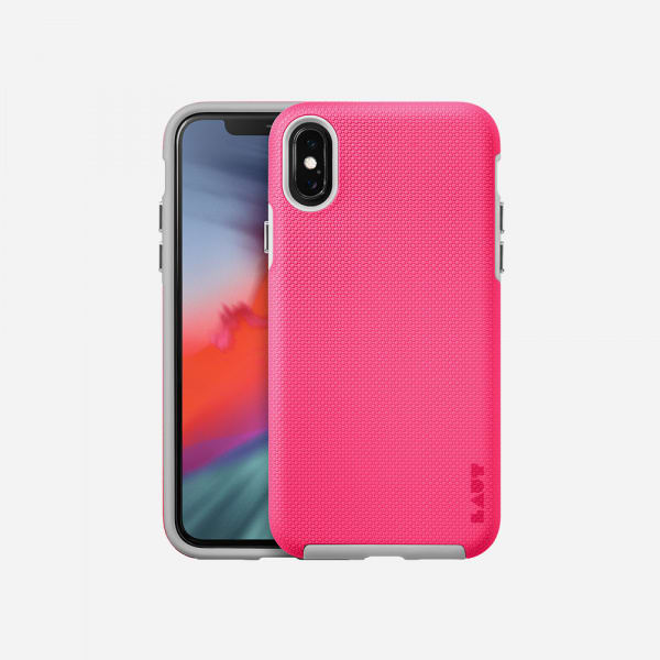LAUT Shield Case for iPhone XS/X -Pink 0