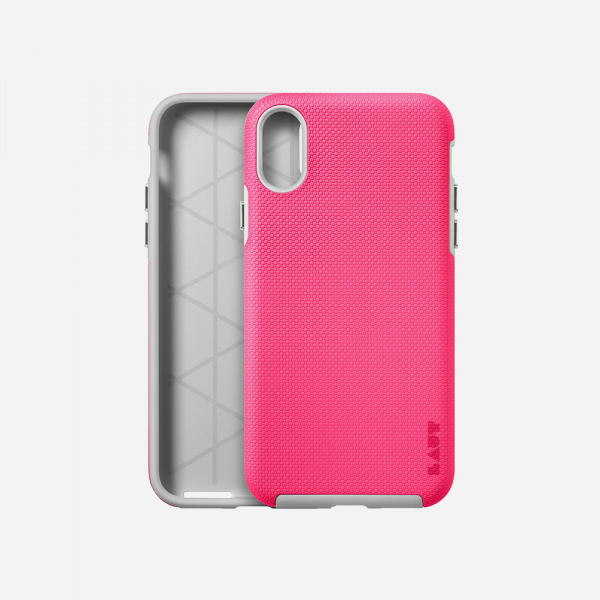 LAUT Shield Case for iPhone XS/X -Pink 5