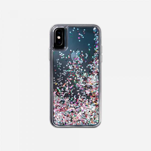 LAUT Liquid Glitter Case for iPhone XS Max - Confetti Party 1