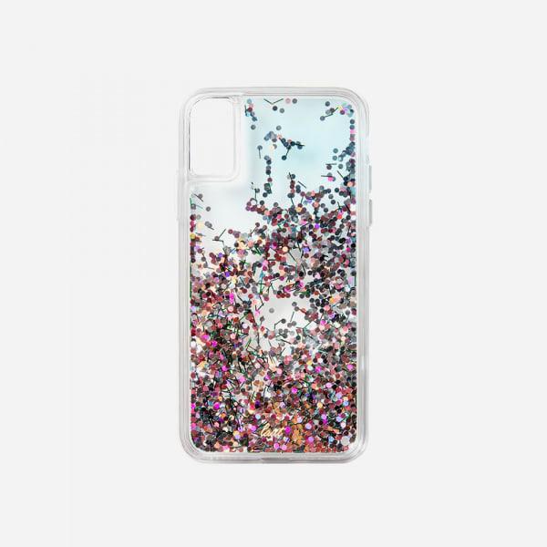 LAUT Liquid Glitter Case for iPhone XS Max - Confetti Party 3