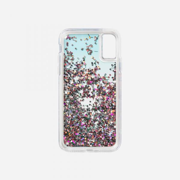 LAUT Liquid Glitter Case for iPhone XS Max - Confetti Party 4