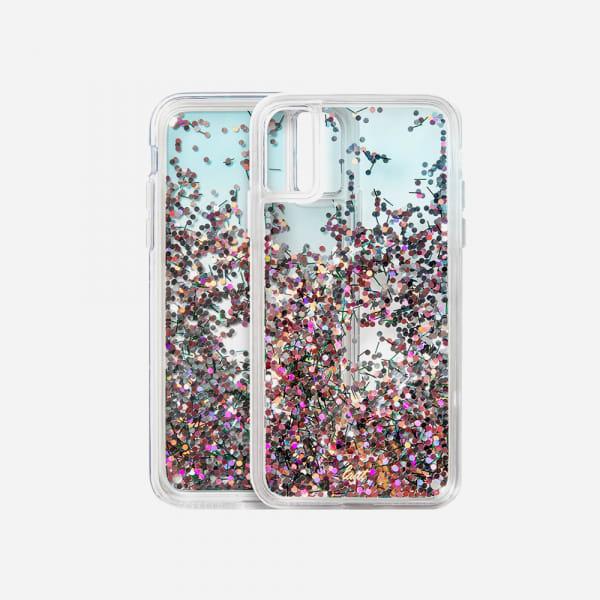 LAUT Liquid Glitter Case for iPhone XS Max - Confetti Party 5