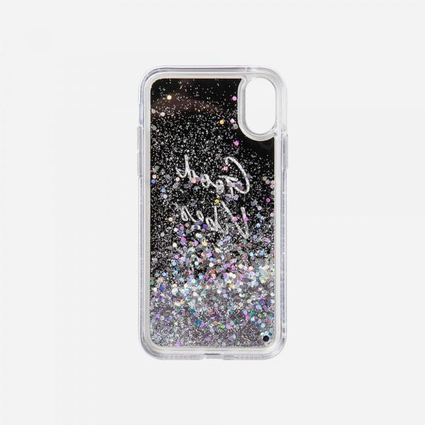 LAUT Liquid Glitter Case for iPhone XS Max - Good Vibes 4