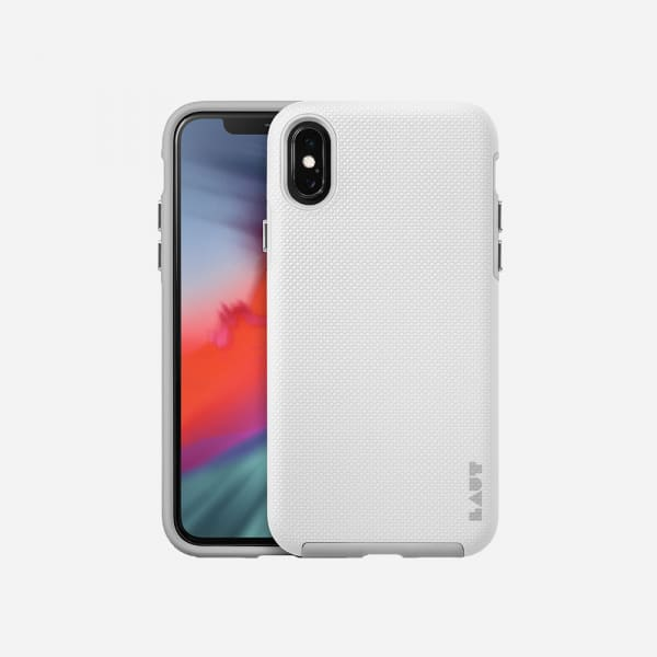 LAUT Shield Case for iPhone XS/X -White 0