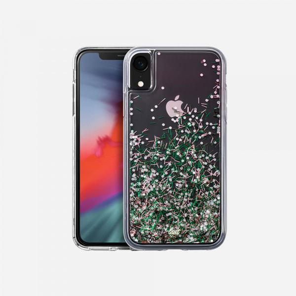 LAUT Liquid Glitter Case for iPhone XR - Confetti Pastel 0