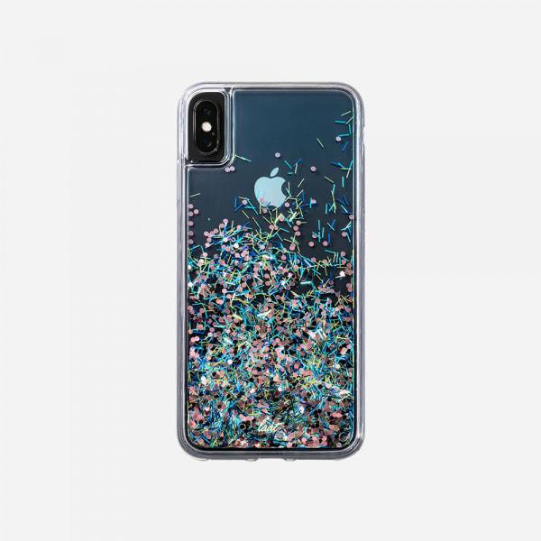 LAUT Liquid Glitter Case for iPhone XS/X - Confetti Party 1