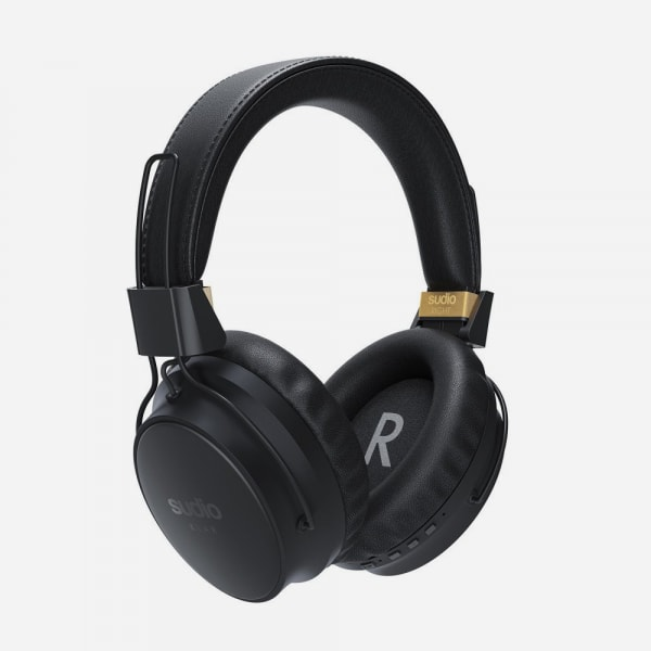 SUDIO Klar Wireless Noise Cancelling Around-Ear Headphones - Black 1
