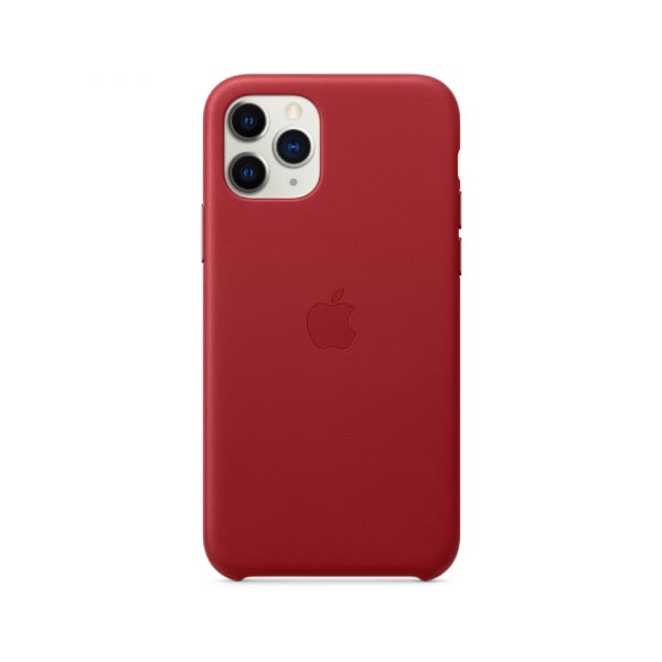 iPhone 11 Pro Leather Case - (PRODUCT)RED 1