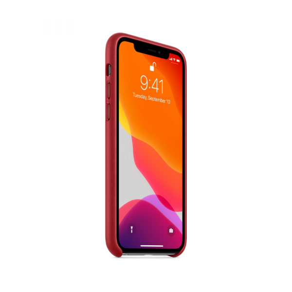 iPhone 11 Pro Leather Case - (PRODUCT)RED 0