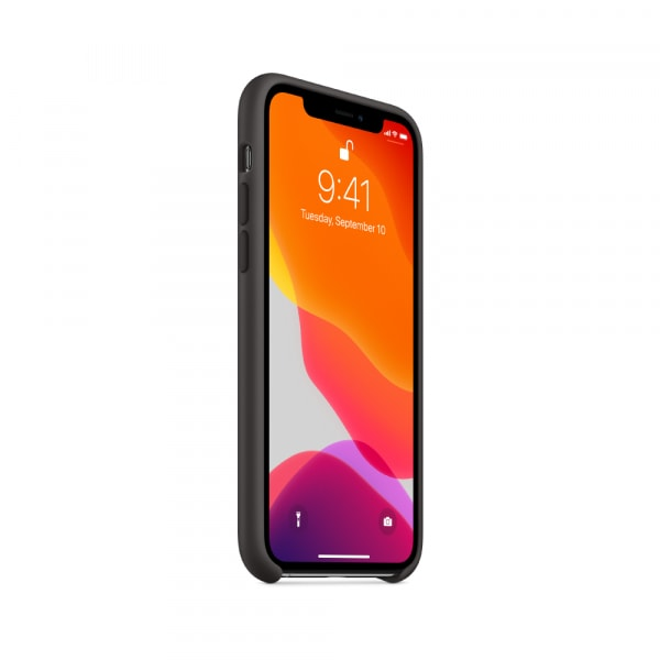 iPhone 11 Pro Silicone Case - Black 0